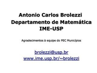 Antonio Carlos Brolezzi