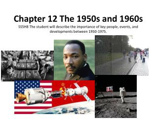 Chapter 12 The 1950s and 1960s