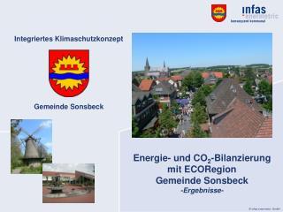 Integriertes Klimaschutzkonzept Gemeinde Sonsbeck