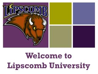 Welcome to  Lipscomb University