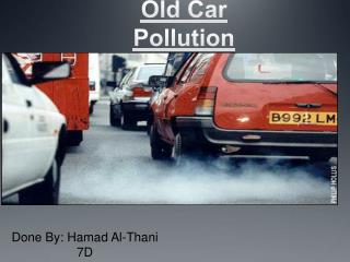 Old Car  Pollution