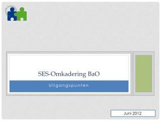 SES- Omkadering  BaO