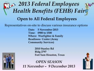 Open to All Federal Employees