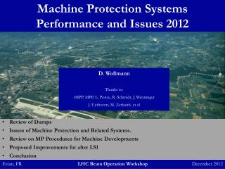 Machine Protection Systems Performance and Issues 2012