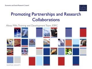 Promoting Partnerships and Research Collaborations