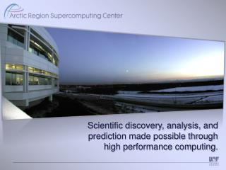 Scientific discovery,  analysis,  and  prediction made possible through