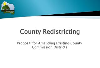 County Redistricting