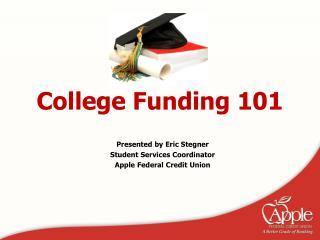 College Funding 101