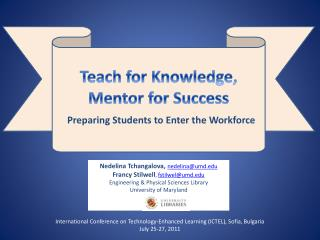 Preparing Students to Enter the Workforce