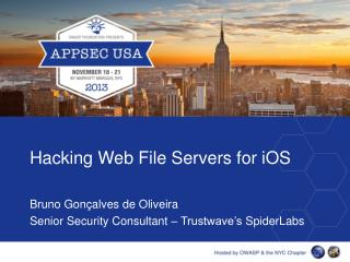 Hacking Web File Servers for  iOS