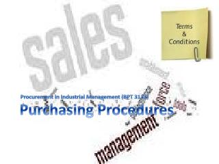Purchasing Procedures
