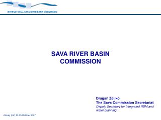 SAVA RIVER BASIN COMMISSION