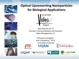 Optical  Upconverting Nanoparticles           for  Biological  Applications