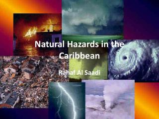 Natural Hazards in the Caribbean