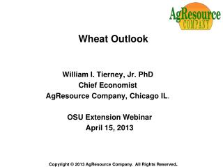 Wheat Outlook