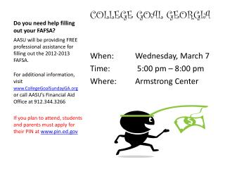 Do you need help filling out your FAFSA?