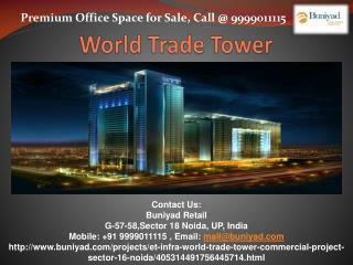 WTT Noida Provides Prestigious Office Space