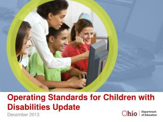 Operating Standards for Children with Disabilities Update