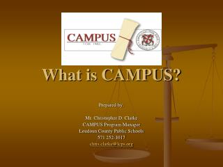 What is CAMPUS?