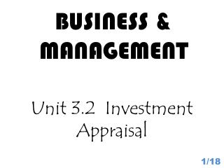 BUSINESS & MANAGEMENT