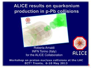 Workshop on proton-nucleus collisions at the LHC ECT* Trento,  6-10 May 2013