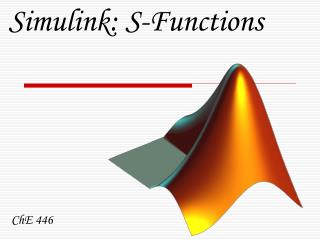 Simulink: S-Functions