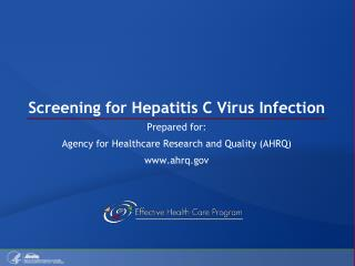 Screening for Hepatitis C Virus Infection