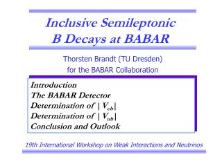 Inclusive Semileptonic  B Decays at BABAR