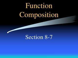 Function Composition