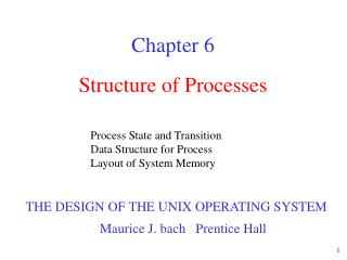 Structure of Processes