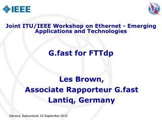 G.fast for FTTdp