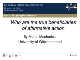 Who are the true beneficiaries of affirmative action