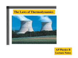 AP Physics B Lecture Notes