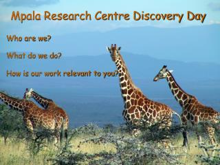 Mpala Research Centre Discovery Day