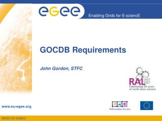 GOCDB Requirements
