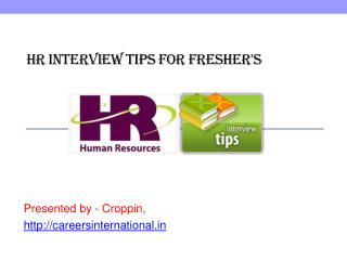HR Interview tips for fresher's