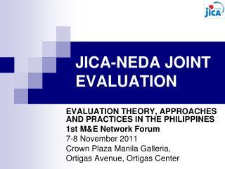 JICA-NEDA JOINT EVALUATION