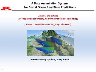 A Data Assimilation System  for Costal Ocean Real-Time Predictions