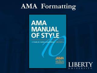 AMA  Formatting