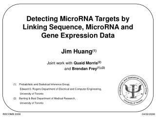 Detecting MicroRNA Targets by Linking Sequence, MicroRNA and Gene Expression Data