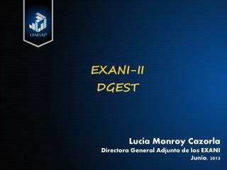 EXANI-II DGEST