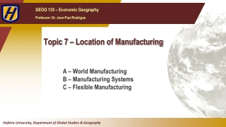 Impact of Ecommerce on Global Manufacturing