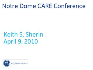 Notre Dame CARE Conference