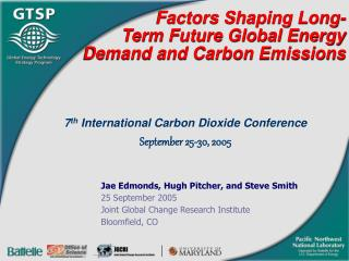 Factors Shaping Long-Term Future Global Energy Demand and Carbon Emissions