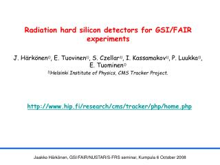 Radiation hard silicon detectors for GSI/FAIR experiments