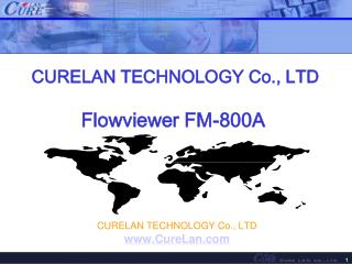 CURELAN TECHNOLOGY Co., LTD Flowviewer FM-800A