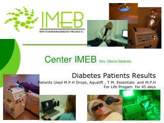 Center IMEB  Dra. Gloria Godines