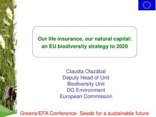 Our life insurance, our natural capital:  an  EU  biodiversity strategy to 2020
