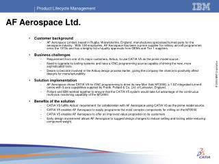 AF Aerospace Ltd.