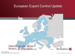 European Export Control Update